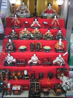 ひな祭りの人形 (Doll Festival set)