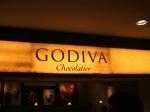 """""""Godiva Chocolate"""" in Tokyo"""