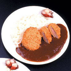 カツカレー (Pork cutlet & curry rice)