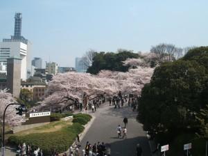 Entrance to the world-famous 日本武道館 (Nippon-Budokan)