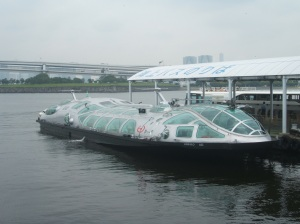 """Himiko"" Waterbus ship"