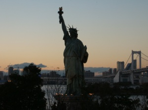 「自由の女神像」 (Statue Of Liberty) at Odaiba