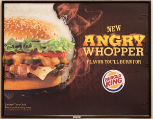 "Burger King America's ""Angry Whopper"""