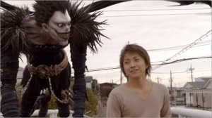 "A scene from the ""Death Note"" movie."