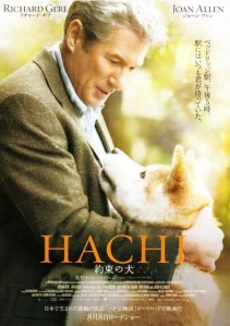 HACHI: A Dog's Story (release date 2009 Aug 8)