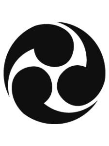 Japanese 三つ巴