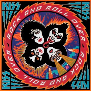 "KISS ""Rock And Roll Over"" album cover (1976)"