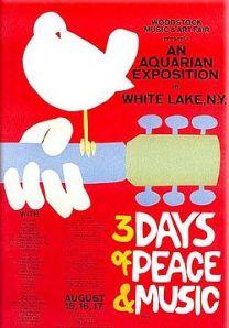 Woodstock promo poster