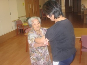 The world's oldest person, as of 2009 Sep 11...Kama Chinen of Japan.