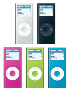 Apple I-pod MP3 players