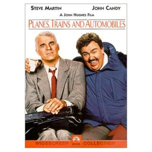 Planes, Trains and Automobiles (starring: Steve Martin, John Candy)