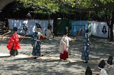 靖国神社の「草鹿式」