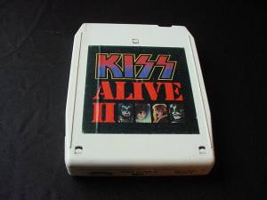 National Association  Stock  Auto Racing Transporter on Kiss  Alive Ii  On 8 Track Tape
