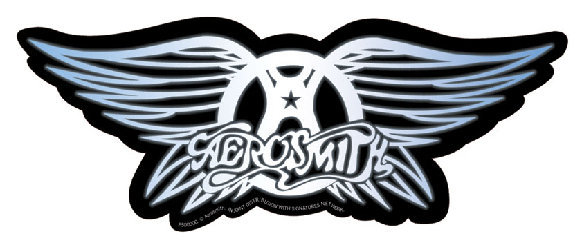 Free coloring pages of aerosmith logo