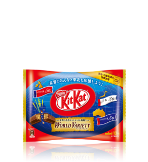 """Kit-Kat World Variety"""
