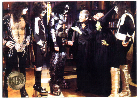 Kiss - Paul Lynde - Halloween Special 1976 - trading card