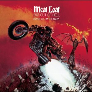 "Meat Loaf ""Bat Out Of Hell"" large album pic!!"