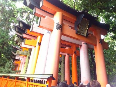 1000 torii gates at Fushimi-Inari.