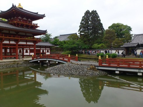 The famous Byoudou-in Temple in Kyoto.