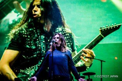 Ozzy Osbourne and Gus G. (© ozzfestjapan.com )