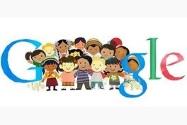 "Google's logo for ""Universal Children's Day"""